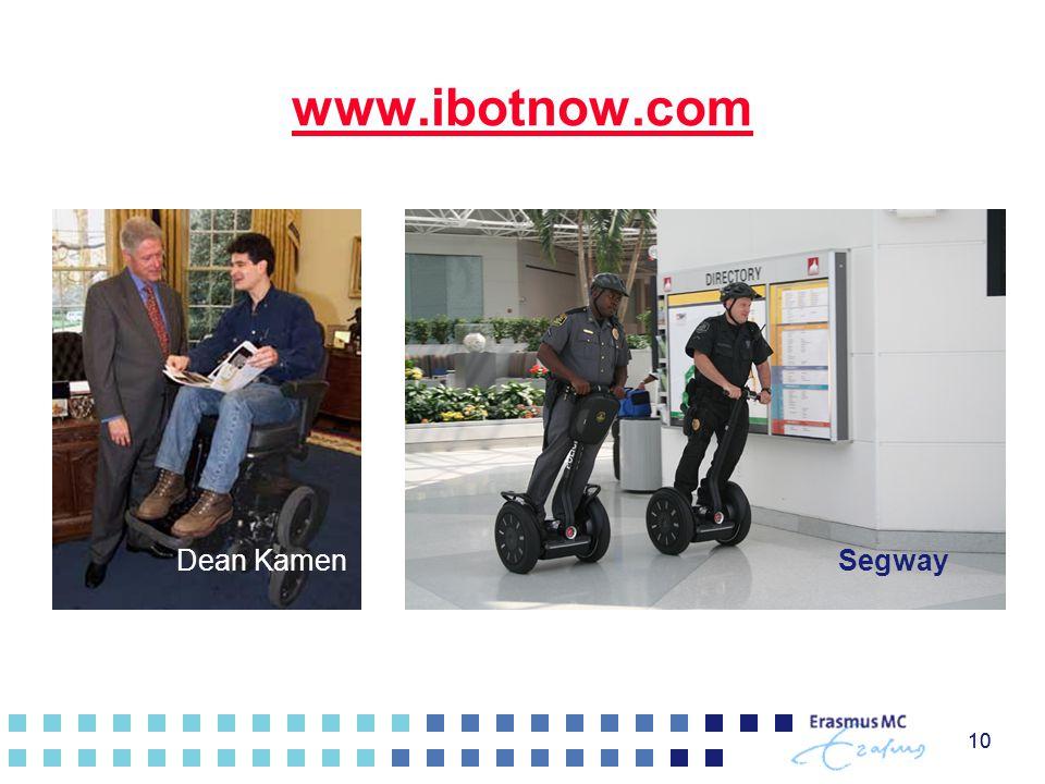 10 www.ibotnow.com 10 SegwayDean Kamen