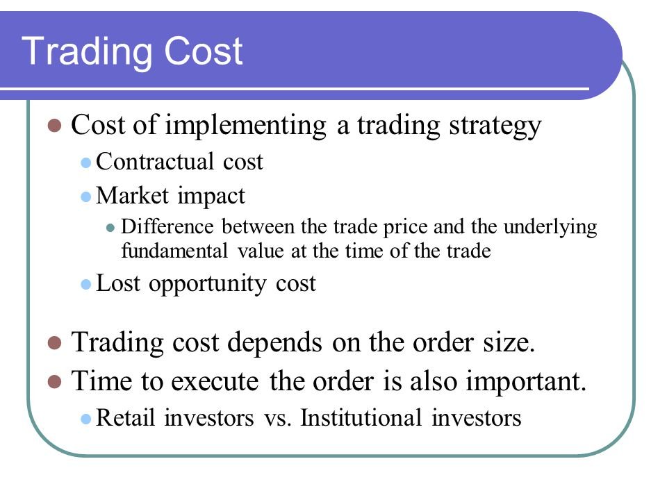 Contractual Costs Commissions (deregulated in 1975 in the US).