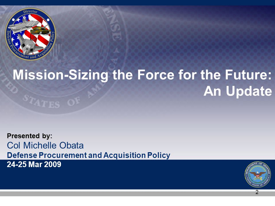 13 Way Ahead  Mission Sizing the Force Summary on slides 10-11 are COCOM requirements  DEPSECDEF tasking memo deliverables »Total Force Assessment (TFA) worksheet uses the Service/ Agency COCOM Requirements to determine shortfalls