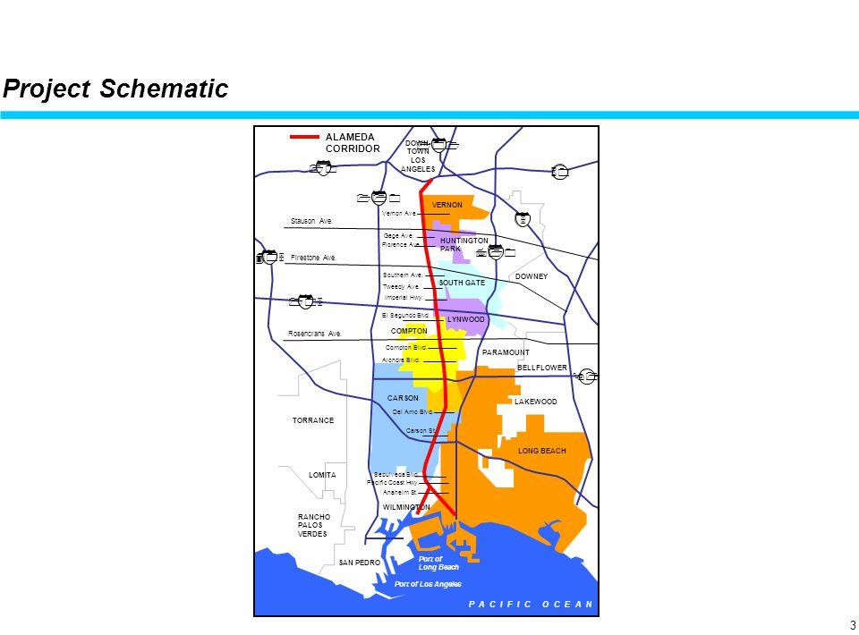 April 19, 2001 Project Schematic ALAMEDA CORRIDOR Stauson Ave.