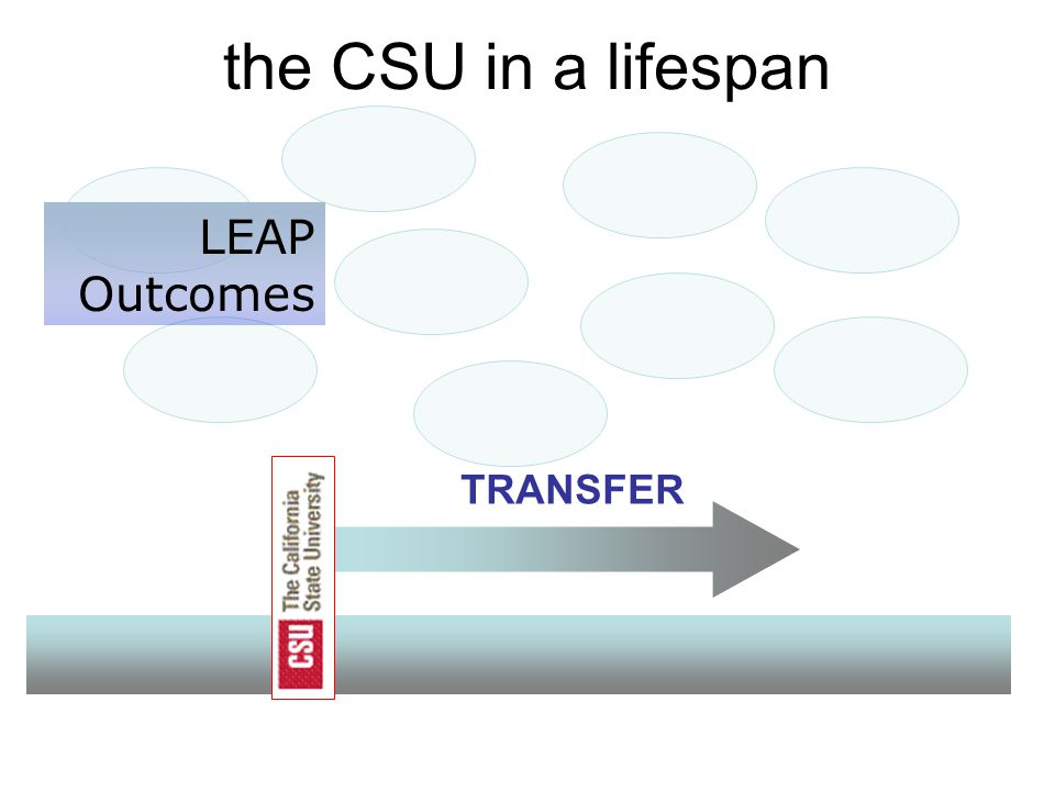 the CSU in a lifespan TRANSFER LEAP Outcomes