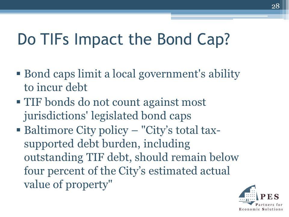 Do TIFs Impact the Bond Cap.