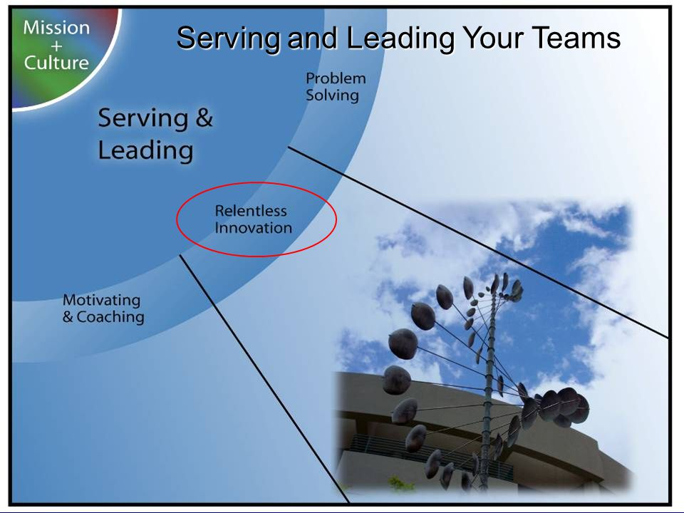 Serving and Leading Your Teams