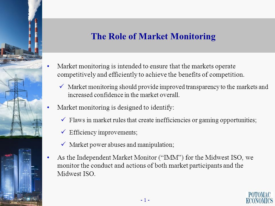 0 Independent Market Monitoring for the Midwest ISO Presented by: Organization of MISO States David B.
