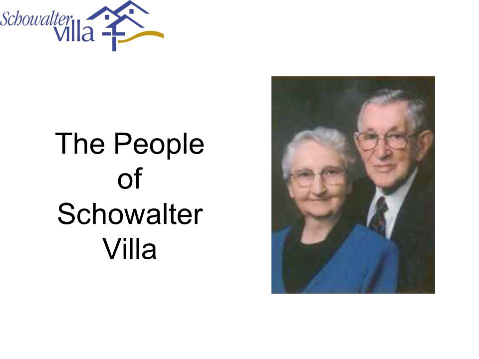 The People of Schowalter Villa