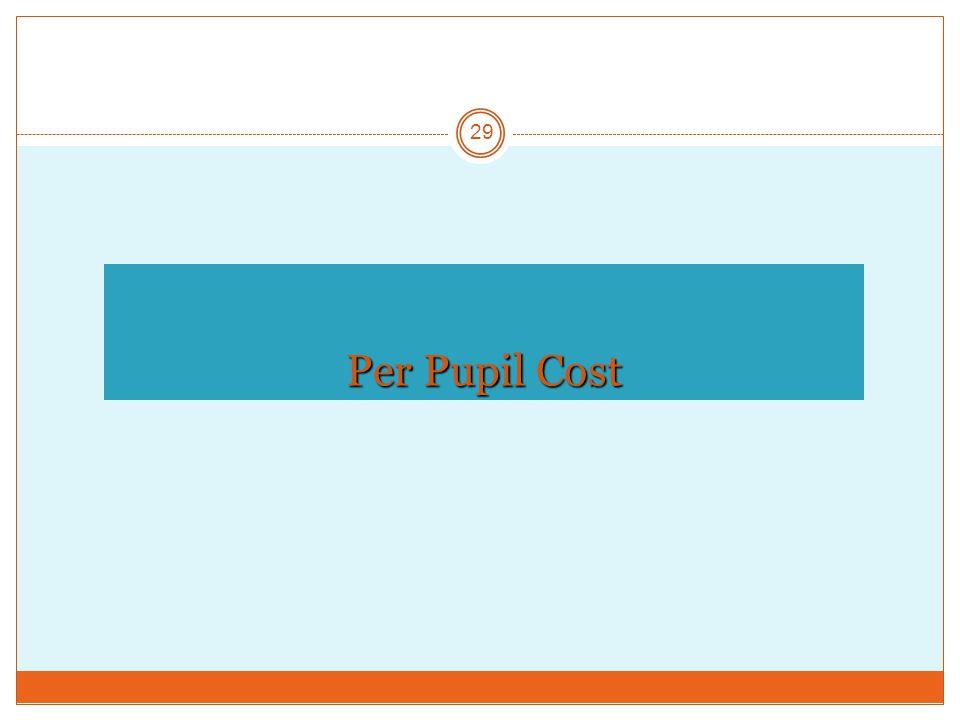 Per Pupil Cost 29