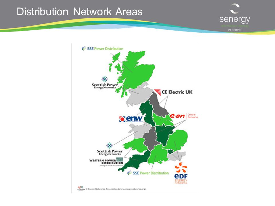 Distribution Network Areas