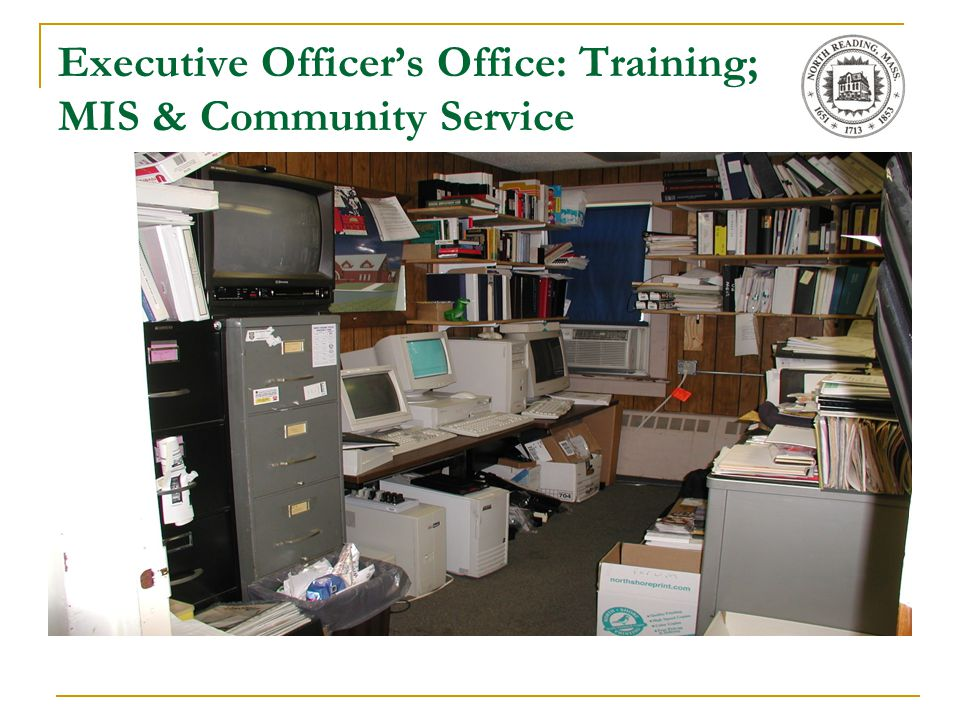 Executive Officer's Office: Training; MIS & Community Service