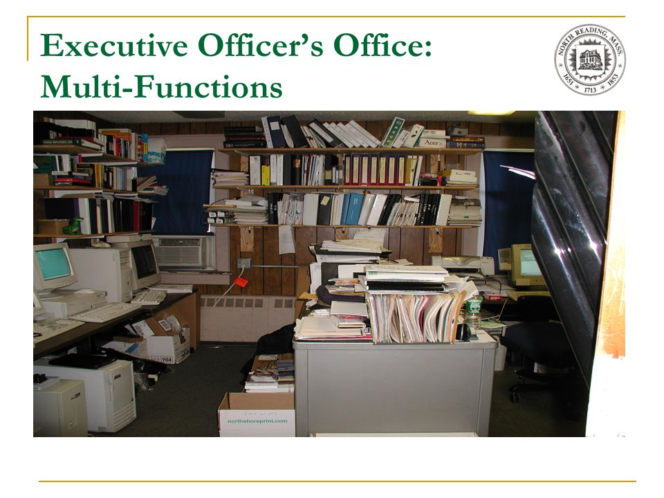 Executive Officer's Office: Multi-Functions