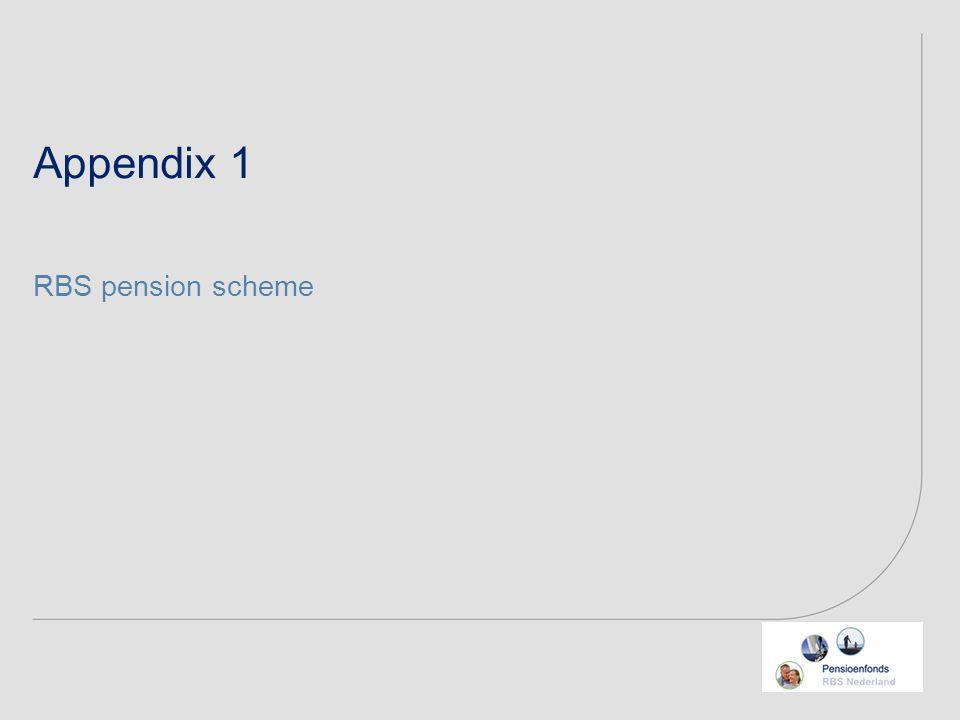 RBS pension scheme Appendix 1
