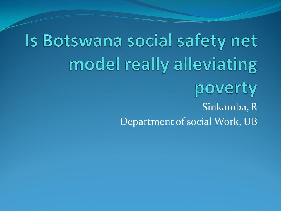 Sinkamba, R Department of social Work, UB