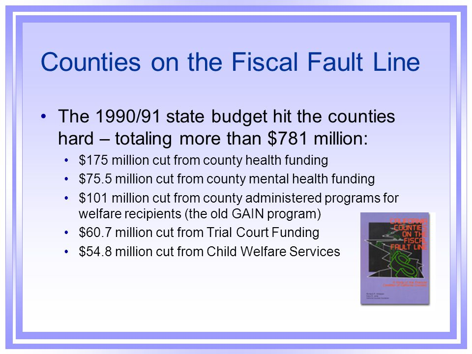 IHSS Funding Prior to Realignment The January 1991/92 state budget proposed $747 million in expenditures for IHSS.