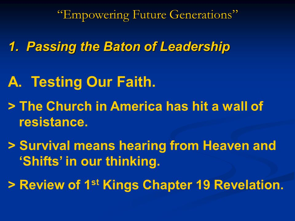 Empowering Future Generations Will We Survive These Trends.
