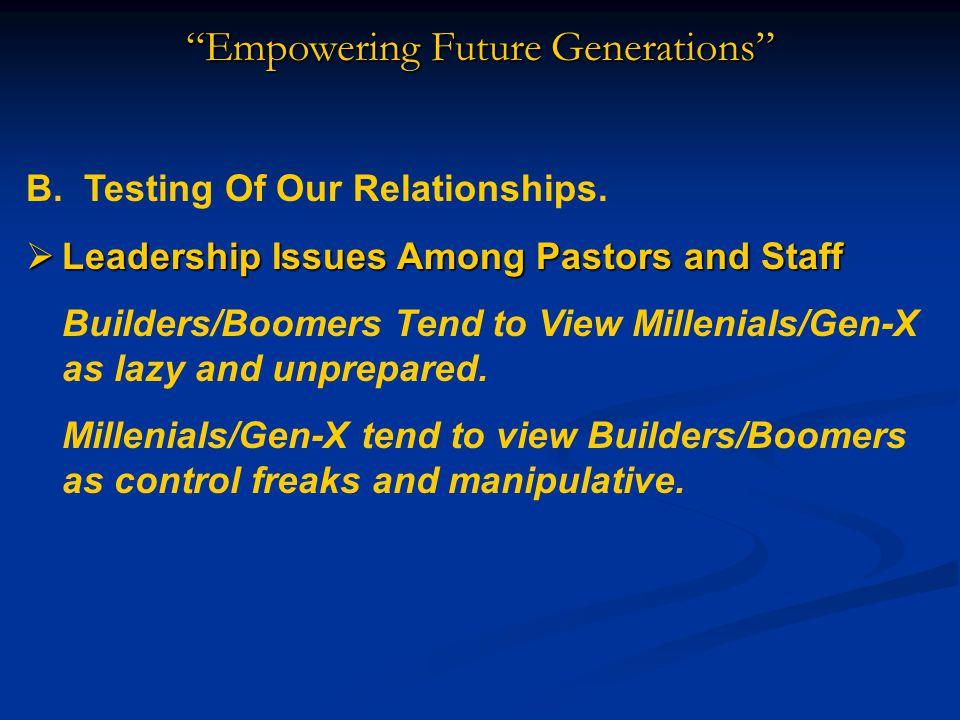 Empowering Future Generations  Elisha's Response (1 Kings 19:20-21)  His response was immediate.