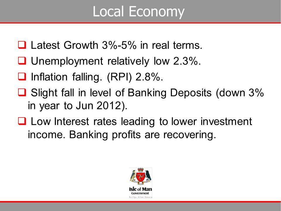 Medium Term Strategy  Rebalance budgets by 2015-16.