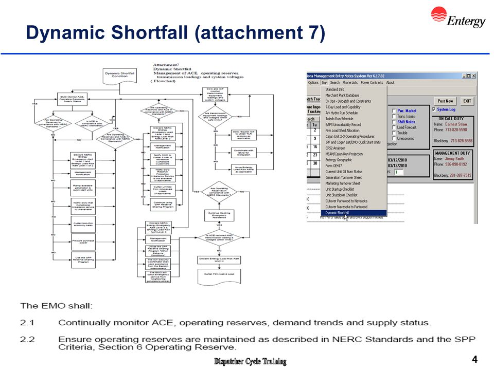 4 Dynamic Shortfall (attachment 7)