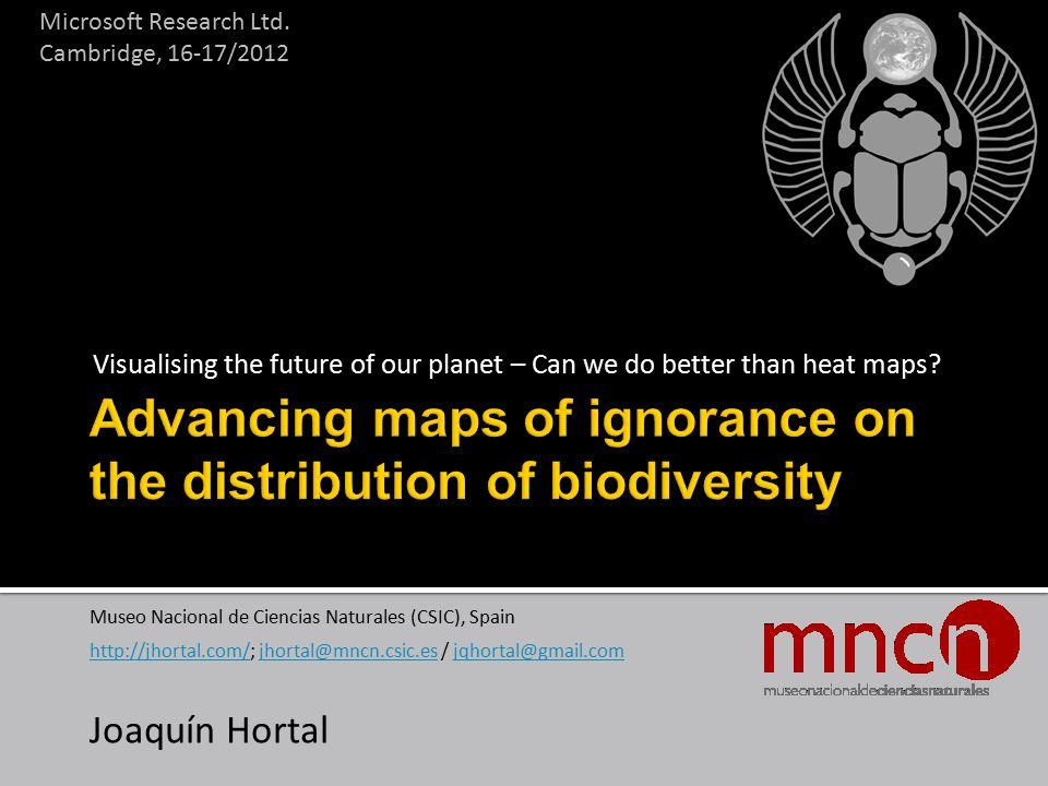 taxonomic error Lozier et al J Biogeogr 2009