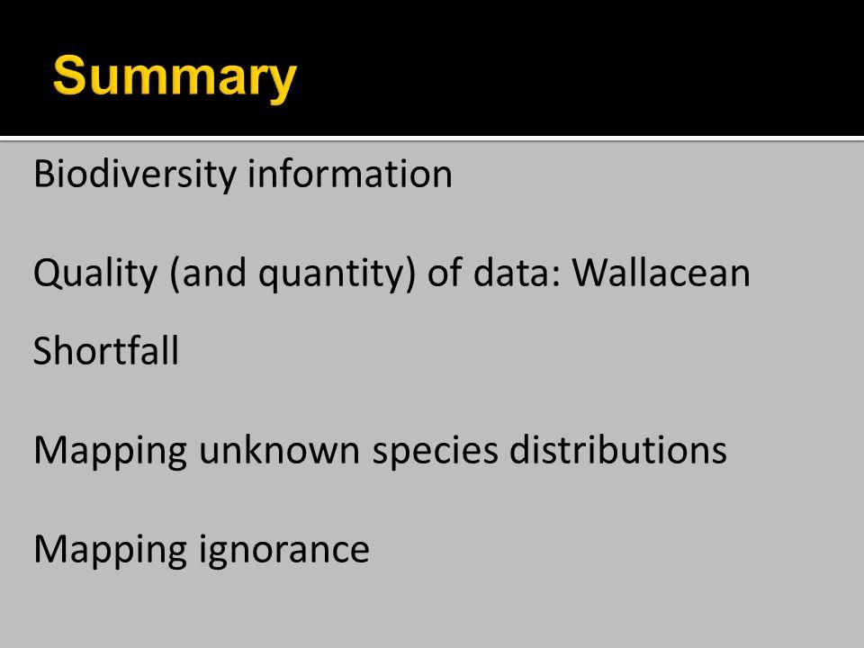 taxonomic bias Baselga et al Biodiv Conserv 2007
