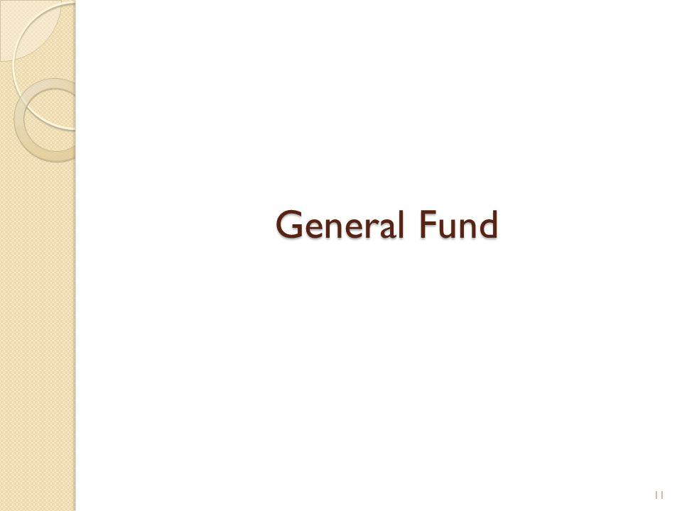 General Fund 11