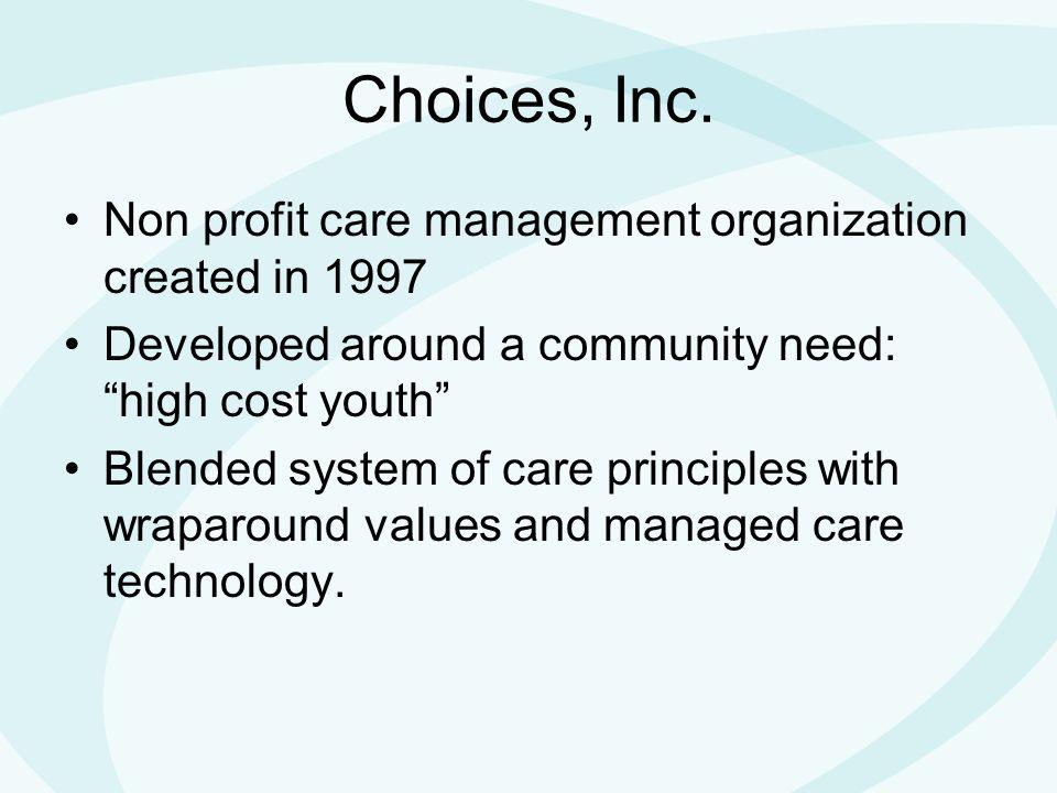 Choices, Inc.