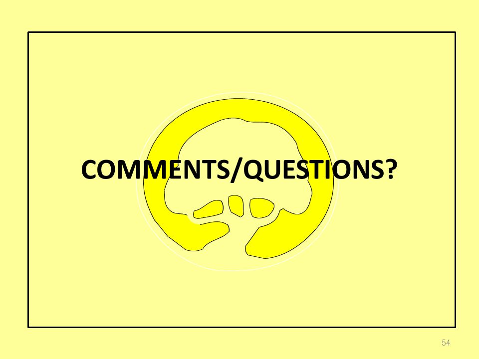 COMMENTS/QUESTIONS 54