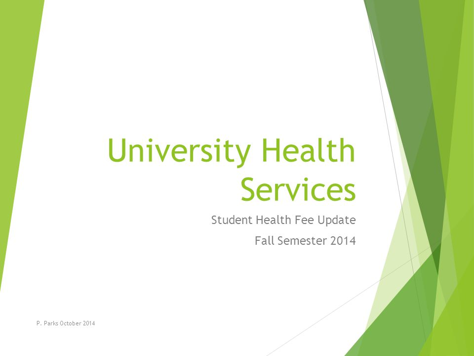 The Student Health Fee Supports… the well being for the entire student body of Clayton State University.