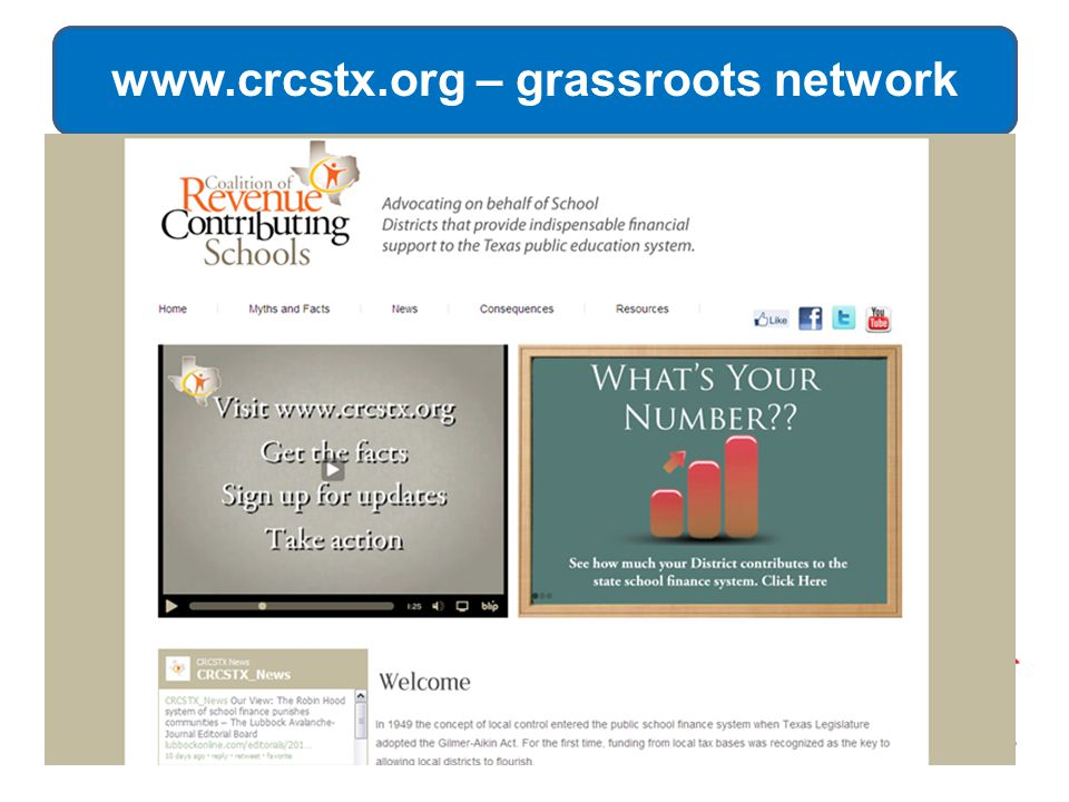 www.crcstx.org – grassroots network