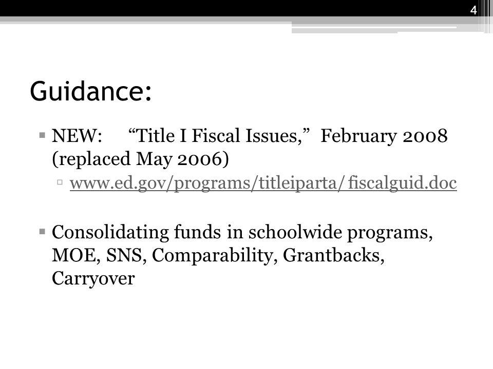 65 ESEA Reauthorization Timeline NCLB Jan 2001 to Jan 2002