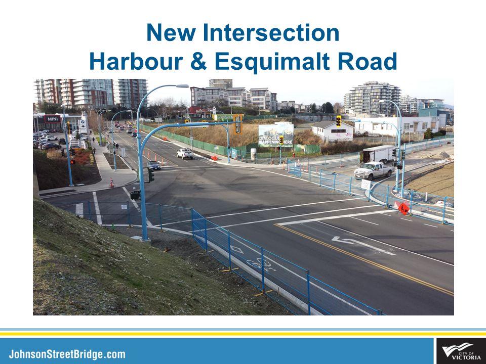 New Intersection Harbour & Esquimalt Road