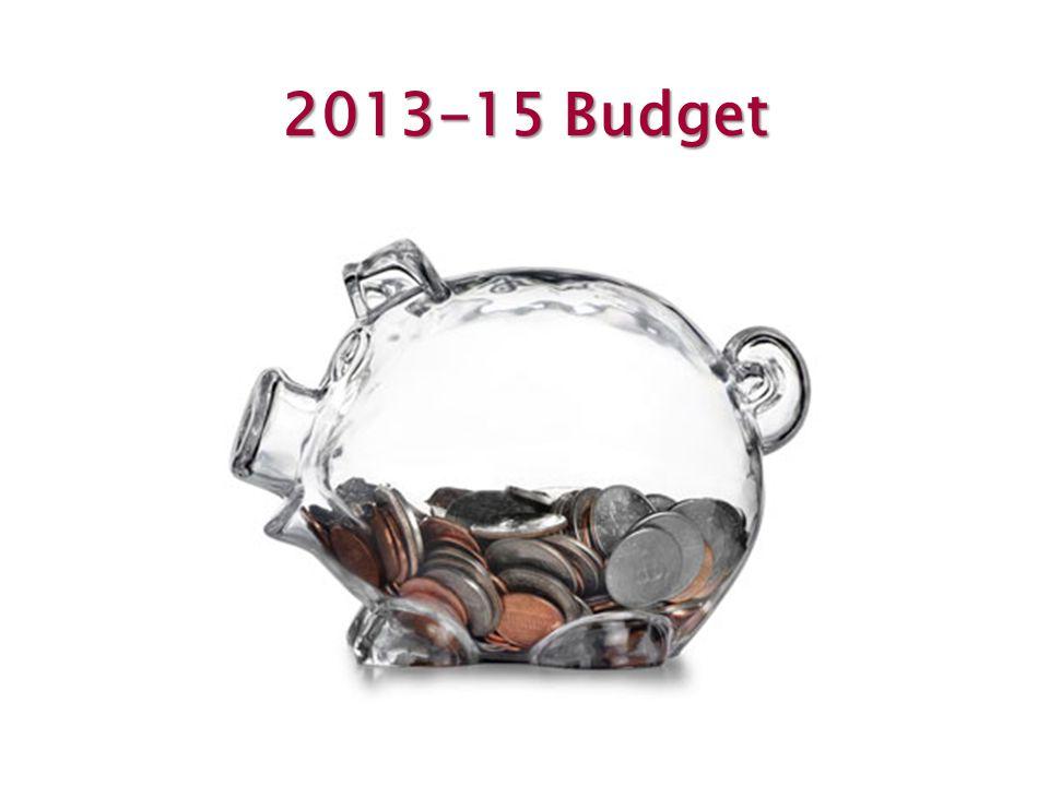 2013-15 Budget