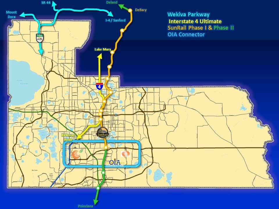  W Oaks Mall to Good Homes Road  Dean Road to Avalon Road  Avalon Road to SR 520 FDOT Regional Transportation Initiatives
