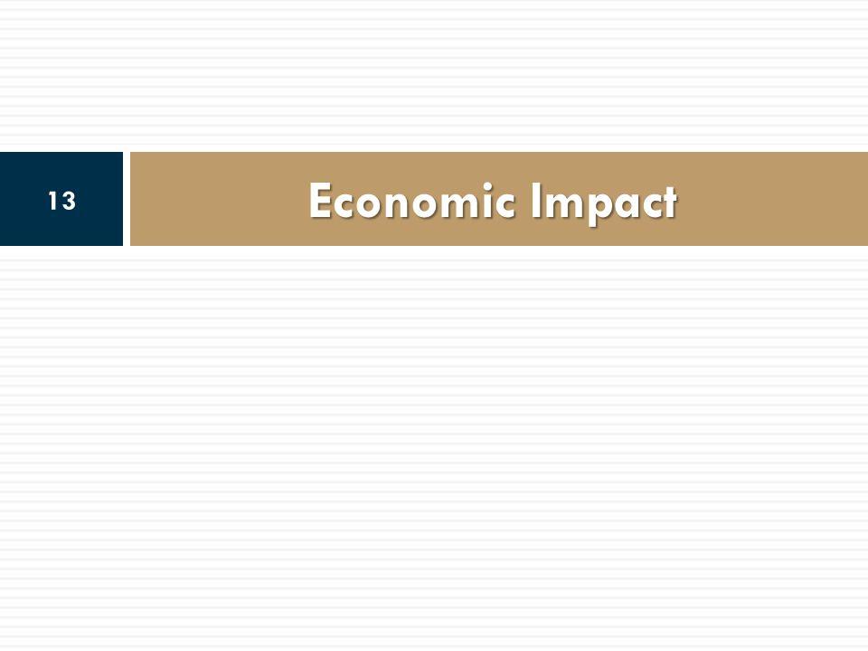 Economic Impact 13
