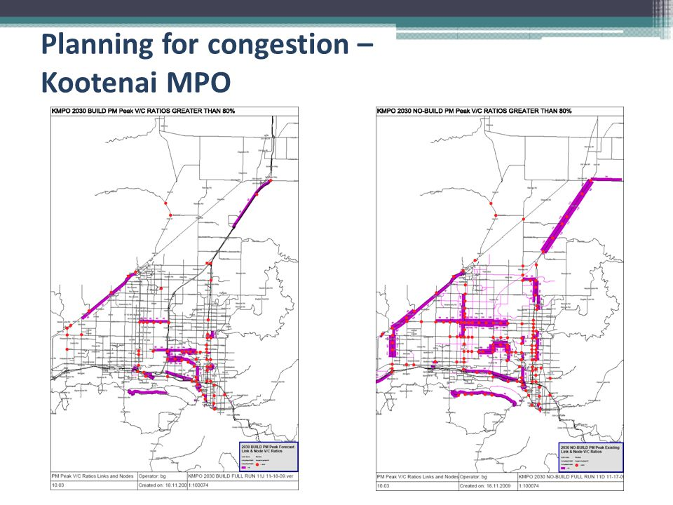 Planning for congestion – Kootenai MPO