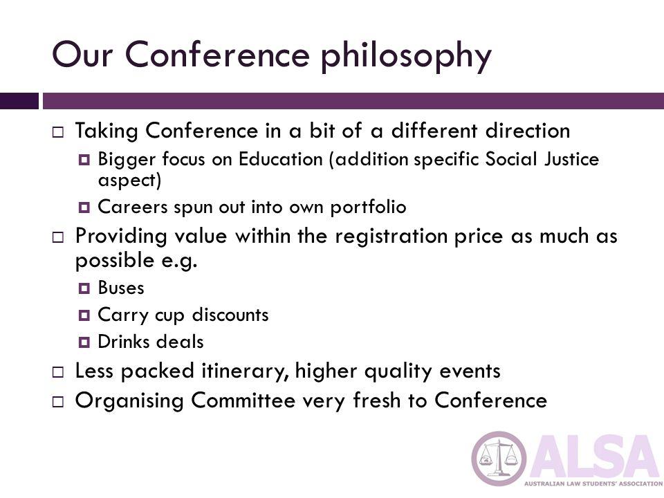 Logistics  Pre-Conference registration was OK….