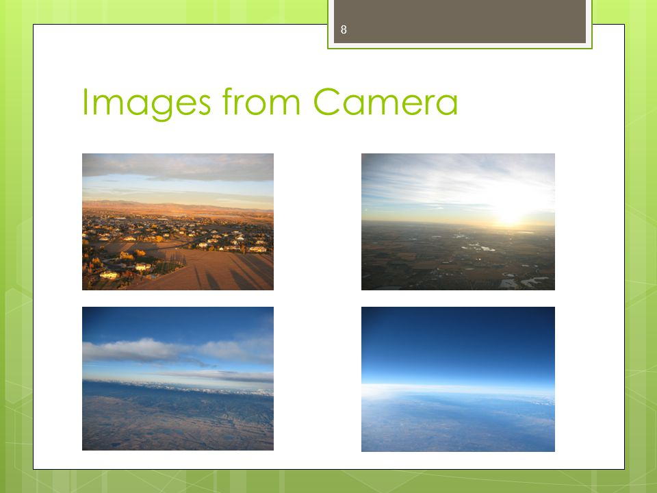 Images from Camera 8