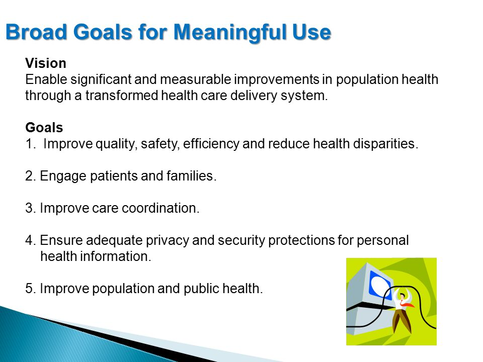 Vision Enable significant and measurable improvements in population health through a transformed health care delivery system.