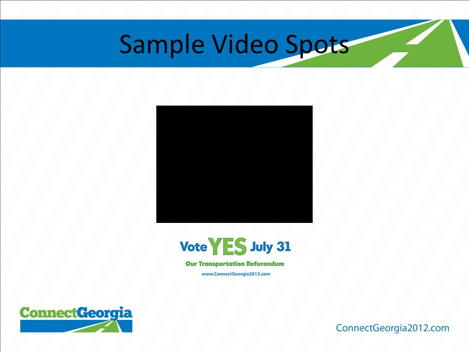 Sample Video Spots