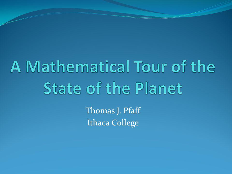 Thomas J. Pfaff Ithaca College