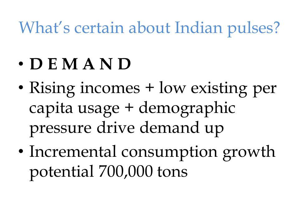 United Colours of Pulses Pulses & Legumes - Food Shortage & Climate Change ? - Sudhakar Tomar 14
