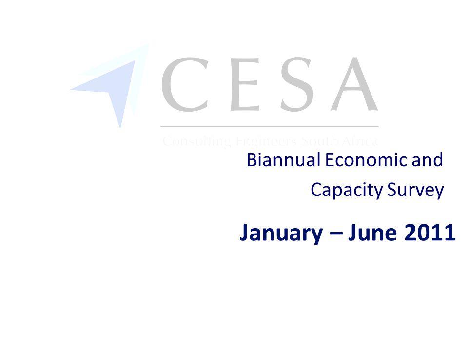 January – June 2011 Biannual Economic and Capacity Survey
