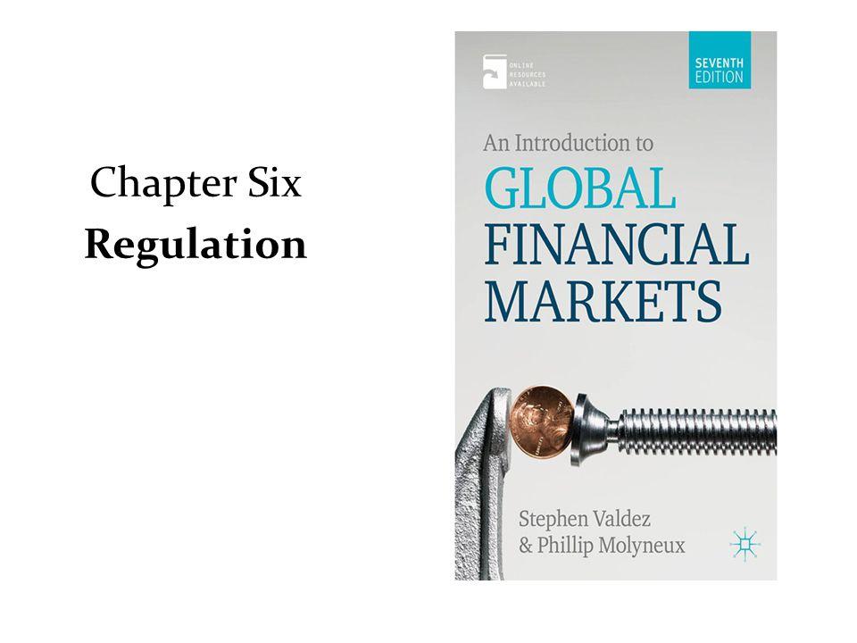 Chapter Six Regulation