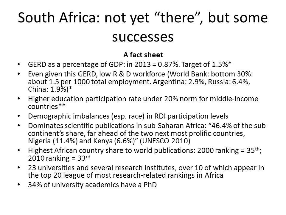 NRF and People (human capital)