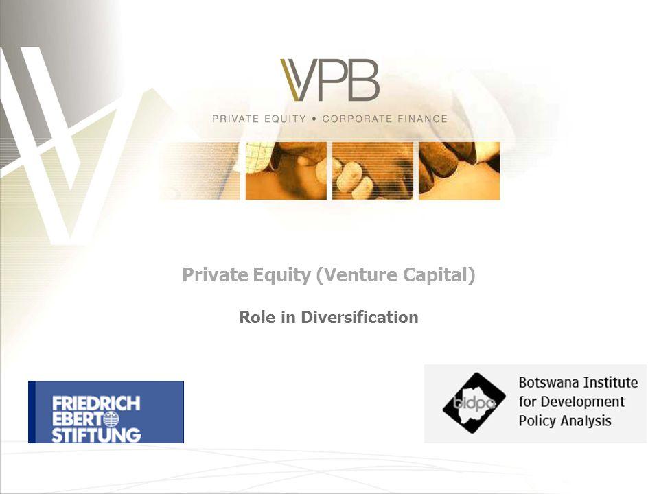   Introduction   VC /PE industry in Botswana   Impact of PE   Economic growth via PE/VC.
