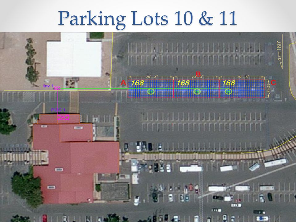 Parking Lots 10 & 11