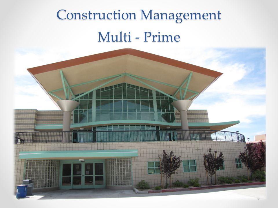 Construction Management Multi - Prime