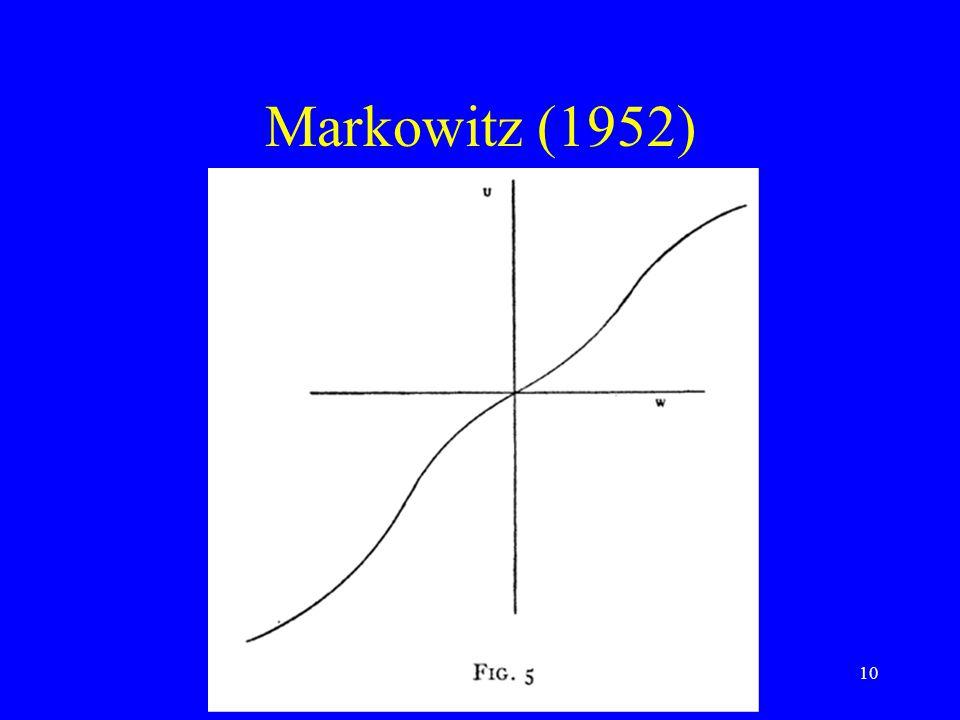 10 Markowitz (1952)