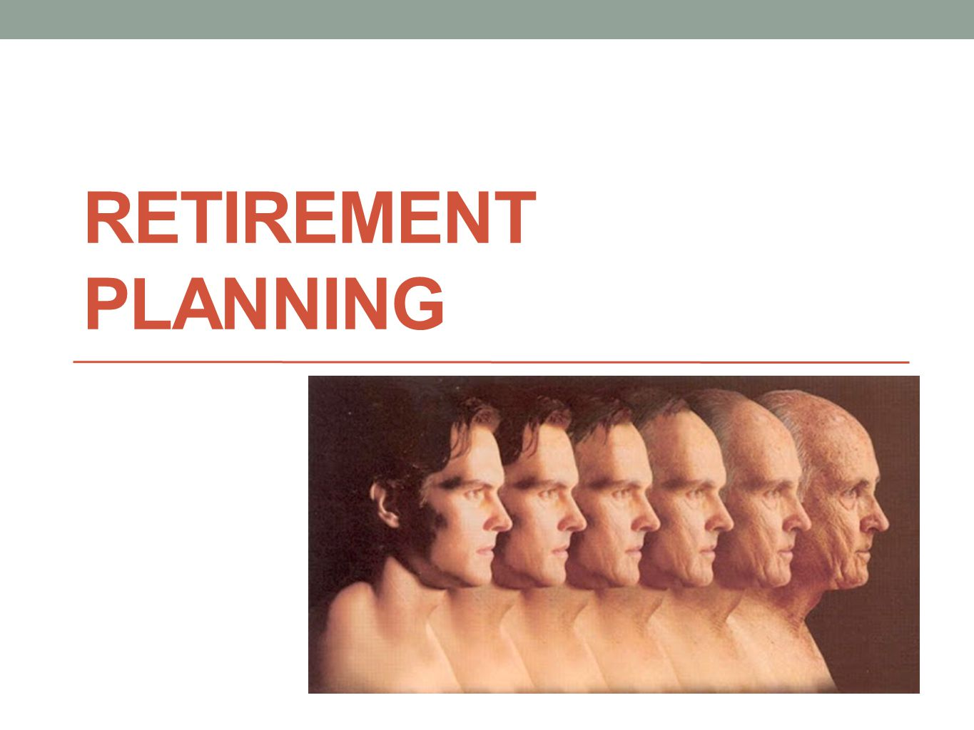 What is Retirement Planning It is preparing financially for when you are too old to work when you are too young to quit Involves making decisions about how well you want to live when you still have the means to craft how well you will live Requires you to defer some degree of current enjoyment in favor of future survival