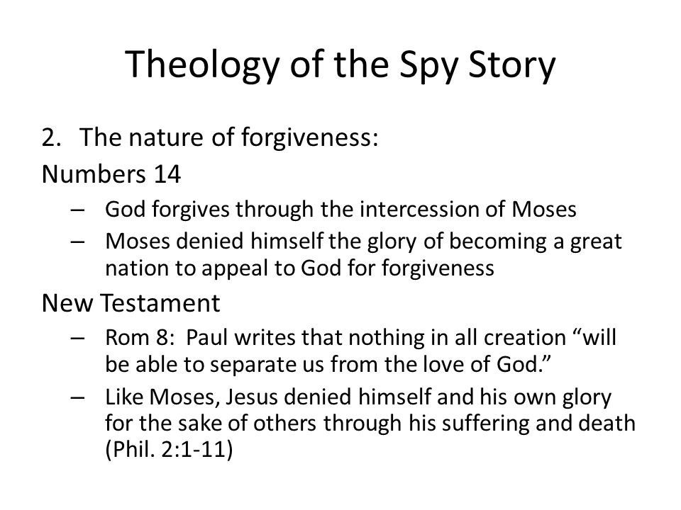 Theology of the Spy Story 3.