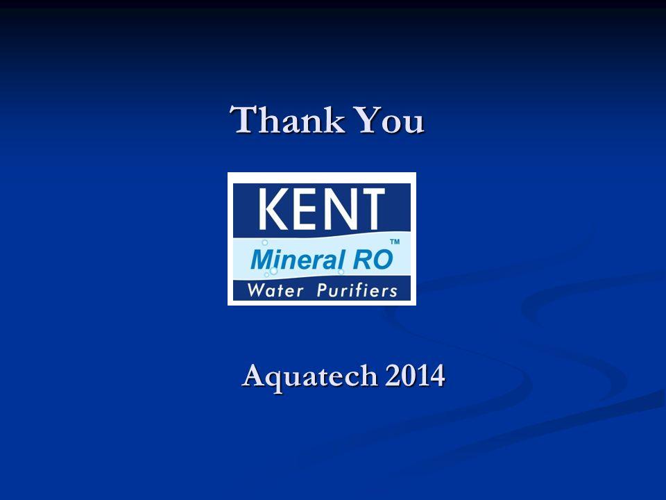 Thank You Aquatech 2014
