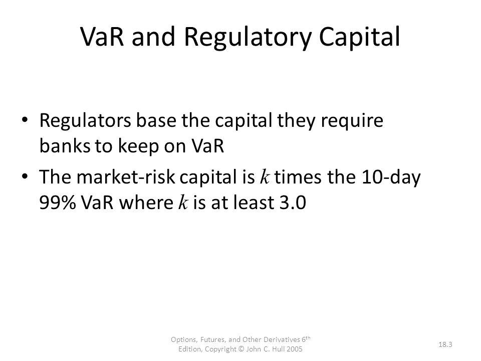 Measures of Risk Standard Deviation (  Beta (ß) Value at Risk (VaR)